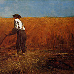 Winslow Homer - The Veteran in a New Field aka buchet