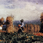Winslow Homer - The Pumpkin Patch