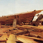 Winslow Homer - Shipbuilding at Gloucester