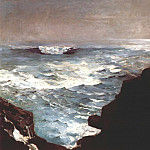 Winslow Homer - cannon rock 1895