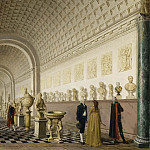 Vilhelm Hammershoi - The Inner Gallery of the Royal Museum at the Royal Palace, Stockholm