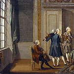 Gustavian Style Interior with a Musical Party