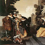 Dirck Hals - Garden Party