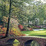Linda Hartough - hallowed ground csg029 augusta national 12th hole