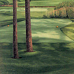 Linda Hartough - hallowed ground csg012 hazeltine 16th hole