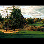 Linda Hartough - hallowed ground csg006 pine valley 18th hole