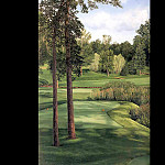 Linda Hartough - hallowed ground csg014 hazeltine 16th hole