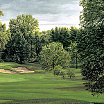 Linda Hartough - hallowed ground csg028 winged foot golf club 10th hole
