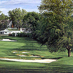 Linda Hartough - hallowed ground csg020 oakmont country club 18th hole