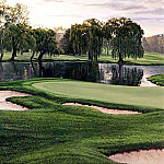 Linda Hartough - hallowed ground csg019 oakland hills country club 16th hole