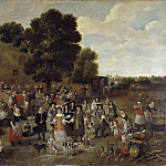 Village Wedding and Open Air Feast [School of]