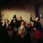 Francois Joseph Navez - The Wine Tasting