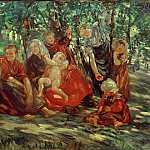 Hans Looschen - Cherry harvest