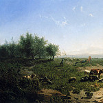 Haas de Leonardus Cattle at the side of the Rijn Sun, Де Муритц Хаас