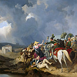 Carl Blechen - Invasion of Austrian Uhlans