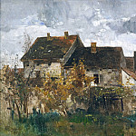 Hans von Marees - Houses in Ferch