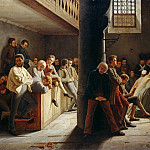 Franz Eybl - Service in the prison church