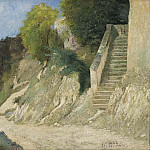 A Steep Ascent in Montigny-sur-Loing