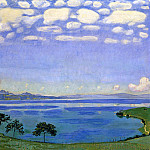 Ferdinand Hodler - Lake of Geneve