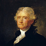Portrait of Thomas Jefferson after a painting by Gilbert Stuart (1755-1828), Gilbert Stuart