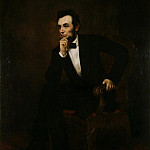Portrait of Abraham Lincoln, George Peter Alexander Healy