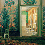Benno Berneis - Interior of castle Paretz
