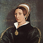 Hans The Younger Holbein - Portrait of Catherine Howard