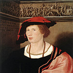 Hans The Younger Holbein - Portrait of Benedikt von Hertenstein