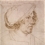 Hans The Younger Holbein - Portrait of Jakob Meyer zum Hasen