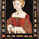 Hans The Younger Holbein - Holbien the Younger Portrait of Jane Seymour