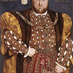 Hans The Younger Holbein - 1540 Portrait of Henry VIII