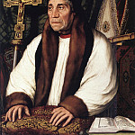 Hans The Younger Holbein - Portrait of William Warham Archbishop of Canterbury