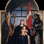 Hans The Younger Holbein - Holbien the Younger The Solothurn Madonna