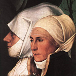 Hans The Younger Holbein - Darmstadt Madonna detail
