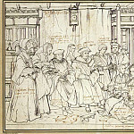Hans The Younger Holbein - Study for the Family Portrait of Sir Thomas More