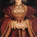 Hans The Younger Holbein - Holbien the Younger Portrait of Anne of Cleves