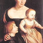 Hans The Younger Holbein - 1528 The Artists Family
