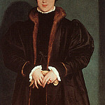 Hans The Younger Holbein - Holbein Christina of Denmark- Duchess of Milan, 1538, Nation