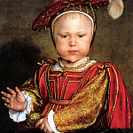 Hans The Younger Holbein - Y03 Hans Holbein the Younger Edward VI as a Child sqs