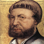 Hans The Younger Holbein - Self Portrait