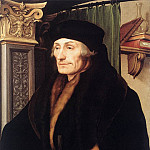 Hans The Younger Holbein - Portrait of Erasmus of Rotterdam