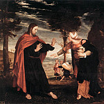 Hans The Younger Holbein - 1524 Noli me Tangere