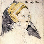 Hans The Younger Holbein - Lady Elyot