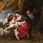 Johan Klopper - The Holy Family [Attributed]