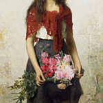The Flower Seller, Alexei Alexeivich Harlamoff