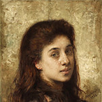 Alexei Alexeivich Harlamoff - Auburn haired beauty
