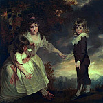 Susannah, Philip Lake, and Maria Godsal: The Godsal Children, De Schryver Louis Marie