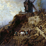 Carl Ludwig Friedrich Becker - Last Mill on Montmartre