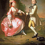 Sir John Pole, 5th Baronet, and his Wife Elizabeth, Thomas Hudson