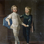 Thomas Hudson - Sir Edward Hulse, 3rd Baronet and his brother, Samuel Hulse